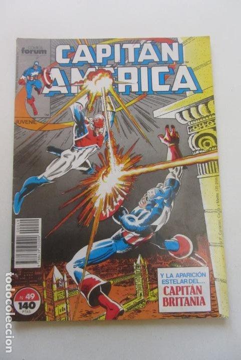 CAPITAN AMERICA Nº 49 FORUM MUCHOS MAS A LA VENTA PIDE FALTAS C8 (Tebeos y Comics - Forum - Capitán América)