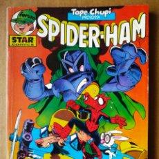 Cómics: RETAPADO TOPE CHUPI: SPIDER-HAM: NÚMEROS 11-12-13-14-15 (STAR CÓMICS/FORUM ALEVÍN, 1987).. Lote 193389388