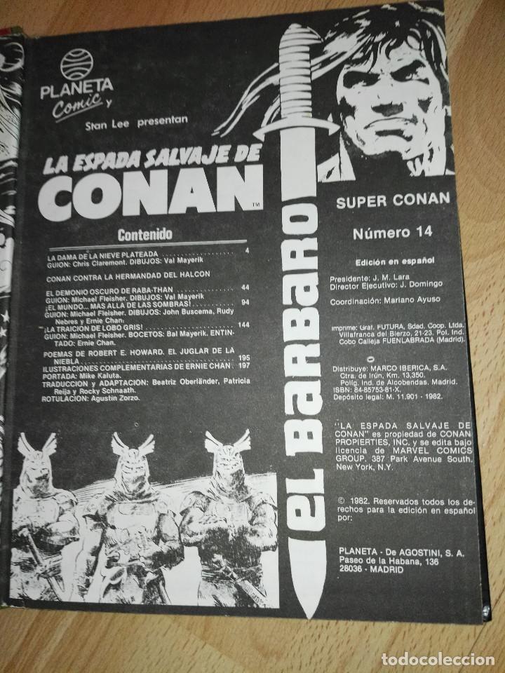 Cómics: Super Conan num. 14 (1ª edic.) - Foto 3 - 193425717