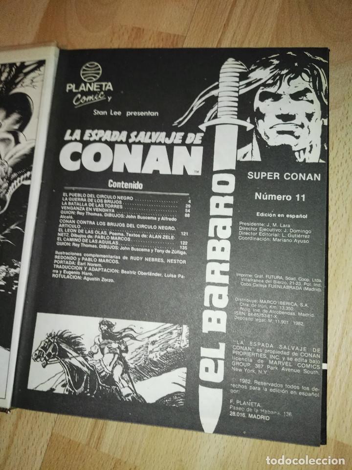 Cómics: Super Conan num. 11 (1ª edic.) - Foto 3 - 193426191