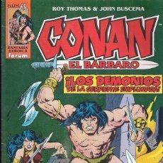 Cómics: CONAN EL BARBARO Nº 65. Lote 193571203