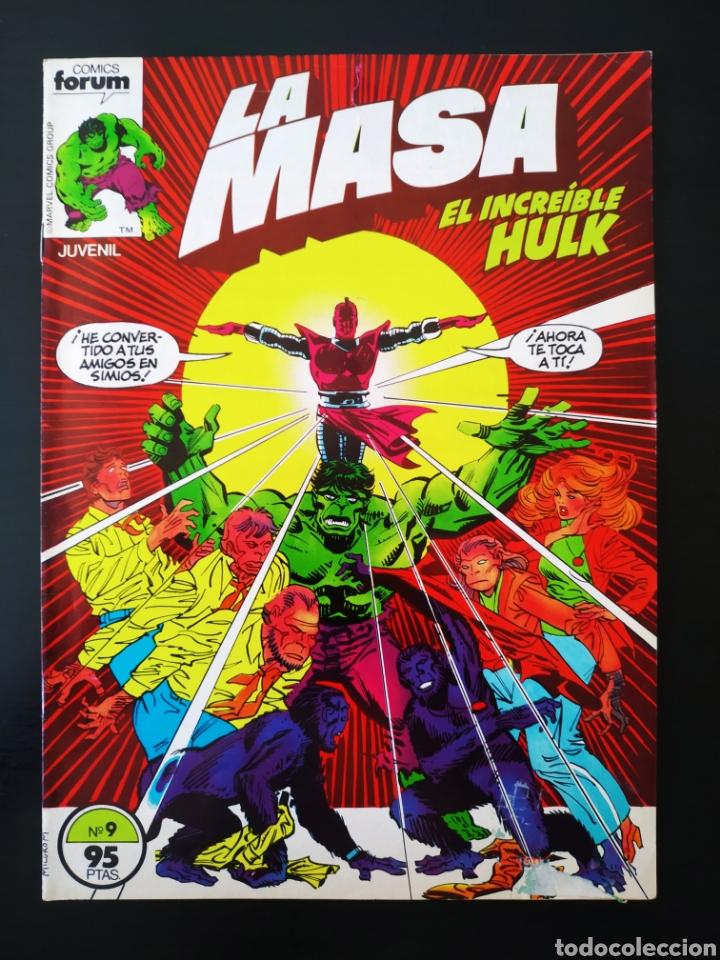 BASTANTE NUEVO LA MASA 9 FORUM (Tebeos y Comics - Forum - Hulk)