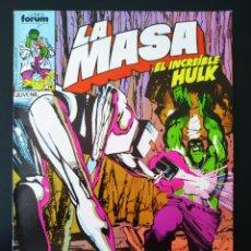 Cómics: BASTANTE NUEVO LA MASA 33 FORUM. Lote 193574140