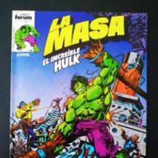 Cómics: BASTANTE NUEVO LA MASA 3 FORUM. Lote 193574322