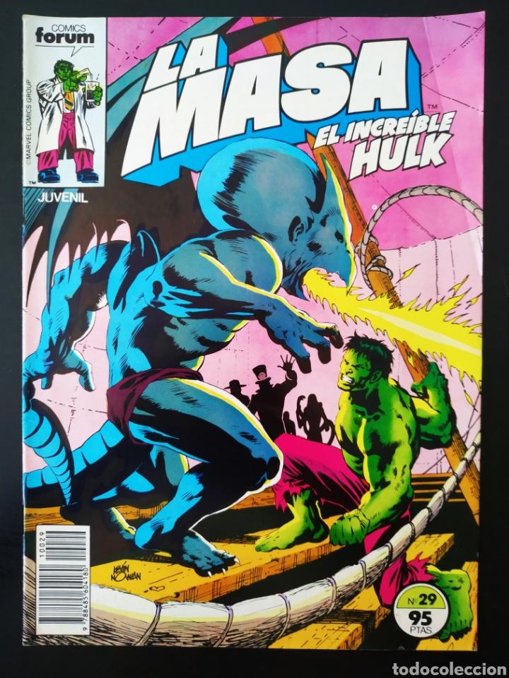 BASTANTE NUEVO LA MASA 29 FORUM (Tebeos y Comics - Forum - Hulk)