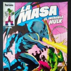 Cómics: BASTANTE NUEVO LA MASA 29 FORUM. Lote 193574648
