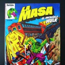Cómics: BASTANTE NUEVO LA MASA 13 FORUM. Lote 193574776