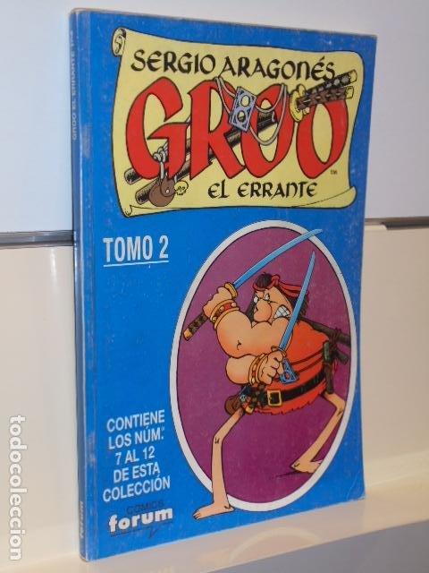GROO EL ERRANTE SERGIO ARAGONES Nº 7-8-9-10-11-12 EN UN TOMO RETAPADO - FORUM OCASION (Tebeos y Comics - Forum - Retapados)