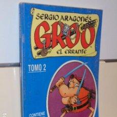 Cómics: GROO EL ERRANTE SERGIO ARAGONES Nº 7-8-9-10-11-12 EN UN TOMO RETAPADO - FORUM OCASION. Lote 193641428
