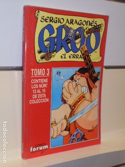 GROO EL ERRANTE SERGIO ARAGONES Nº 13-14-15-16-17-18 EN UN TOMO RETAPADO - FORUM OCASION (Tebeos y Comics - Forum - Retapados)
