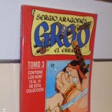 Cómics: GROO EL ERRANTE SERGIO ARAGONES Nº 13-14-15-16-17-18 EN UN TOMO RETAPADO - FORUM OCASION. Lote 193641756