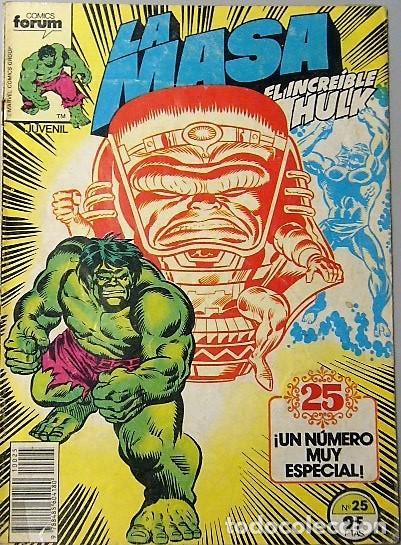 LOTE 6 COMICS DE HULK + LA COSA + TORMENTA GALÁCTICA (Tebeos y Comics - Forum - Hulk)