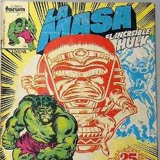Cómics: LOTE 6 COMICS DE HULK + LA COSA + TORMENTA GALÁCTICA. Lote 193678208