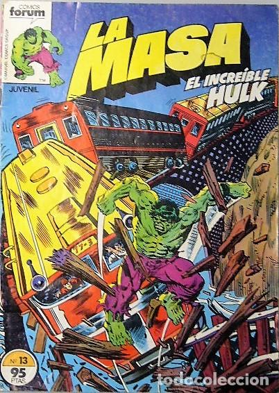 Cómics: LOTE 6 COMICS DE HULK + LA COSA + TORMENTA GALÁCTICA - Foto 3 - 193678208