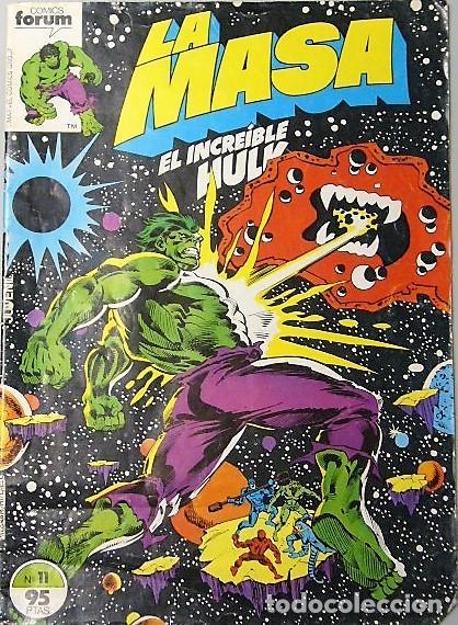Cómics: LOTE 6 COMICS DE HULK + LA COSA + TORMENTA GALÁCTICA - Foto 4 - 193678208