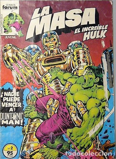 Cómics: LOTE 6 COMICS DE HULK + LA COSA + TORMENTA GALÁCTICA - Foto 5 - 193678208