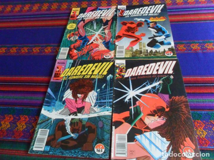FORUM VOL. 2 DAREDEVIL NºS 6 7 8 10. 1990. 165 PTS. (Tebeos y Comics - Forum - Daredevil)