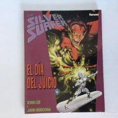 Cómics: SILVER SURFER: EL DIA DEL JUICIO DE STAN LEE Y JOHN BUSCEMA. FORUM.. Lote 193749953