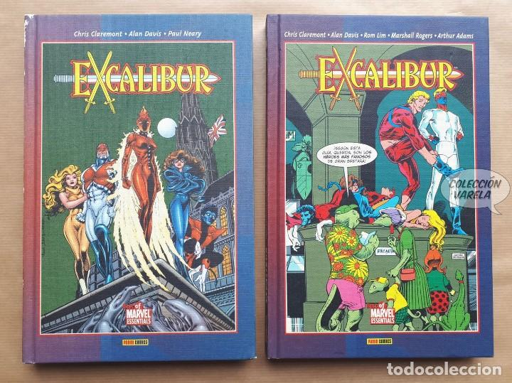 EXCALIBUR - BEST OF MARVEL ESSENTIALS 1 Y 2 - CHRIS CLAREMONT Y ALAN DAVIS - FORUM - JMV (Tebeos y Comics - Forum - Prestiges y Tomos)