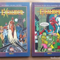 Cómics: EXCALIBUR - BEST OF MARVEL ESSENTIALS 1 Y 2 - CHRIS CLAREMONT Y ALAN DAVIS - FORUM - JMV. Lote 193828121