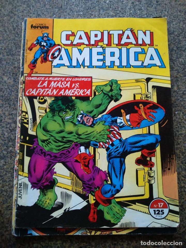 CAPITAN AMERICA -- Nº 17 -- VOLUMEN 1 -- FORUM -- (Tebeos y Comics - Forum - Capitán América)