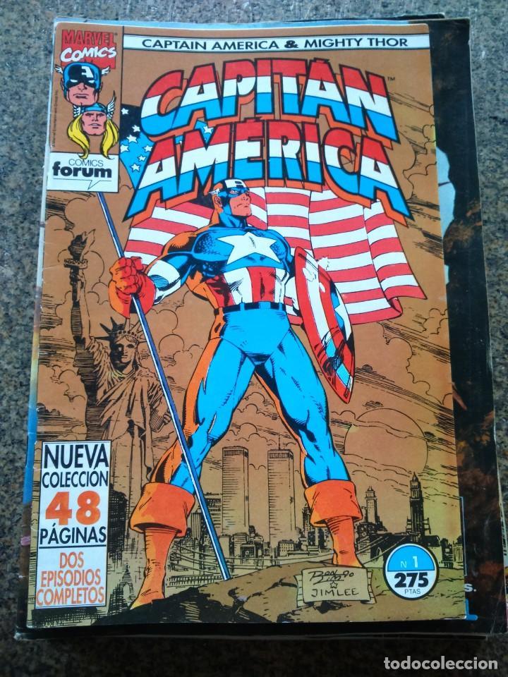 CAPITAN AMERICA -- Nº 1 -- VOLUMEN 2 -- FORUM -- (Tebeos y Comics - Forum - Capitán América)