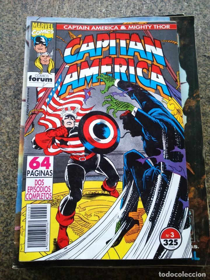 CAPITAN AMERICA -- Nº 3 -- VOLUMEN 2 -- FORUM -- (Tebeos y Comics - Forum - Capitán América)