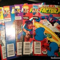 Cómics: FACTOR X LA GUERRA DEL JUICIO 2-3-4-5-6 (DE 7)+REGALO ESPECIAL VERANO. Lote 194006112