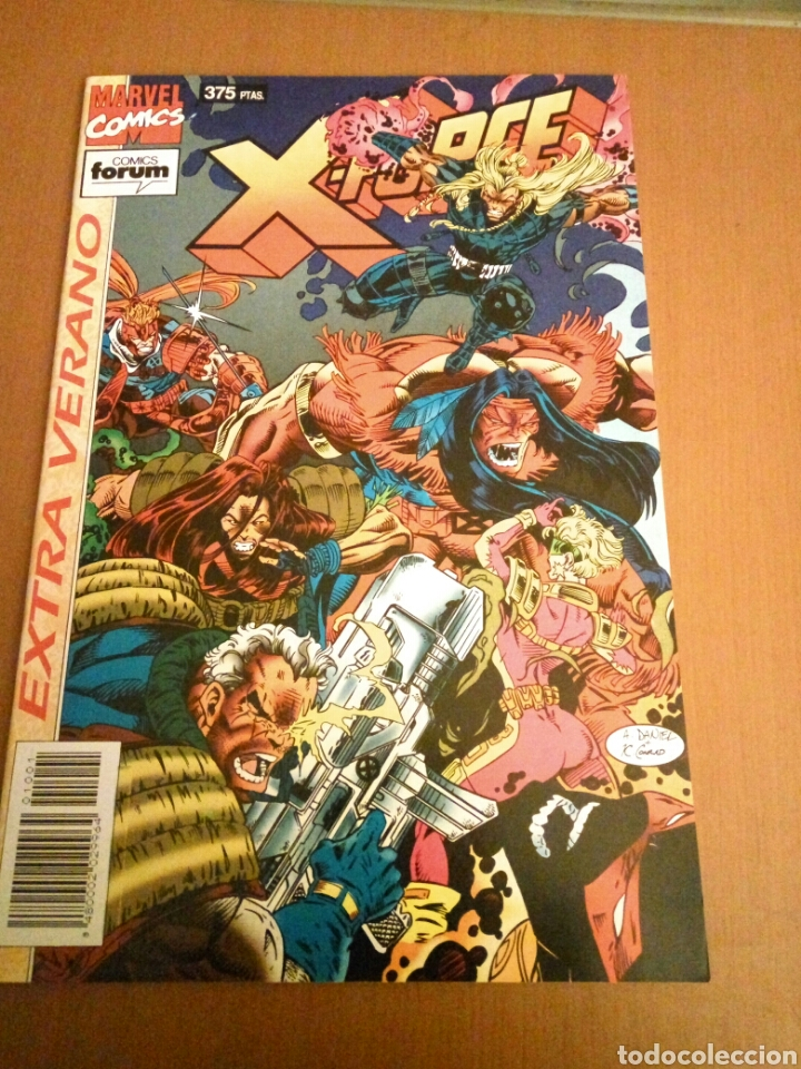 ESPECIAL XFORCE EXTRA INVIERNO (Tebeos y Comics - Forum - Patrulla X)
