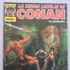 Fumetti: ESPADA SALVAJE DE CONAN 1ª EDICIÓN, Nº 134. Lote 194113398