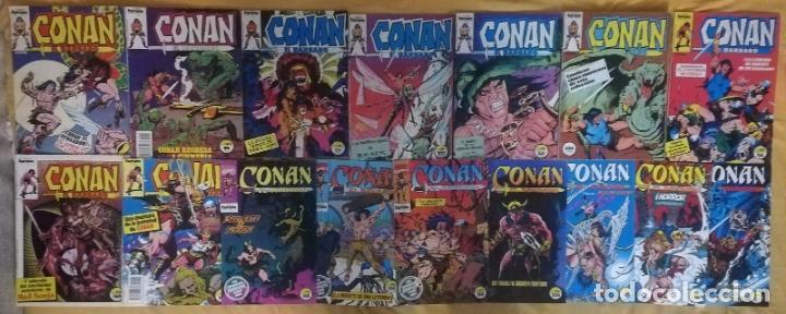 CONAN EL BARBARO 17 GRAPAS 1 RETAPADO 4 GRAPAS DE REGALO (Tebeos y Comics - Forum - Conan)