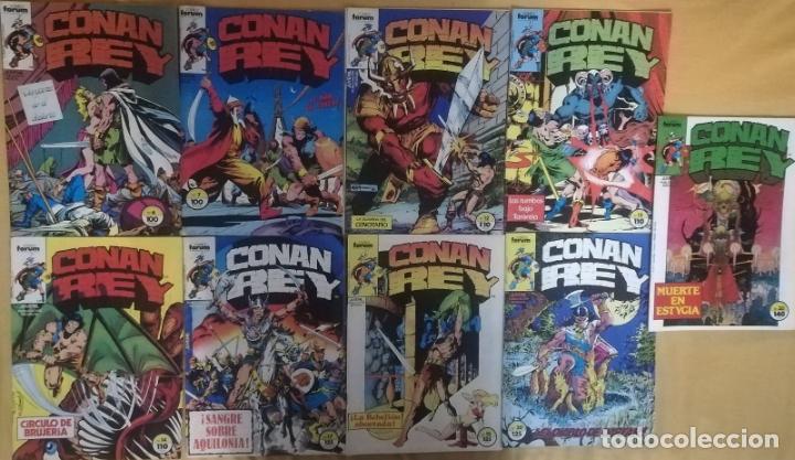 CONAN REY 6,7,12,13,14,17,18,20,30 (Tebeos y Comics - Forum - Conan)