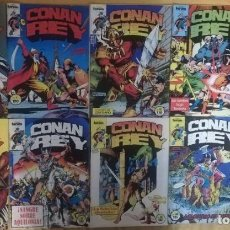 Cómics: CONAN REY 6,7,12,13,14,17,18,20,30. Lote 194115561