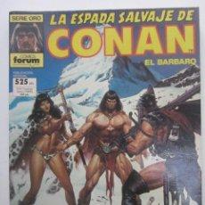 Cómics: LA ESPADA SALVAJE DE CONAN. RETAPADO. CON NUMEROS 59, 60, 61. FORUM CX41. Lote 194140190