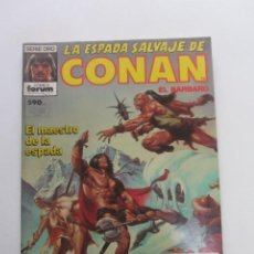Cómics: LA ESPADA SALVAJE DE CONAN. RETAPADO. CON NUMEROS 68 69 70 FORUM CX41. Lote 194140336