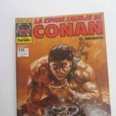 Cómics: LA ESPADA SALVAJE DE CONAN. RETAPADO. CON NUMEROS 62 63 64 FORUM CX41. Lote 194140778