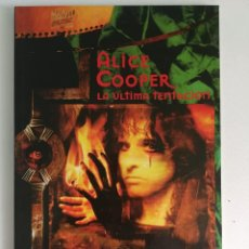 Cómics: ALICE COOPER LA ÚLTIMA TENTACIÓN (NEIL GAIMAN & MICHAEL ZULLI) - MARVEL MUSIC (1997). Lote 194158537