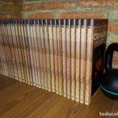 Cómics: COLECCION COMPLETA 34 TOMOS LAS CRONICAS DE CONAN EXCELENTE ESTADO FORUM PLANETA. Lote 194186148