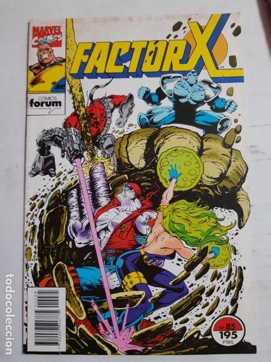 FACTOR X Nº 85 ESTADO BUENO MAS ARTICULOS ACEPTO OFERTAS (Tebeos y Comics - Forum - Factor X)