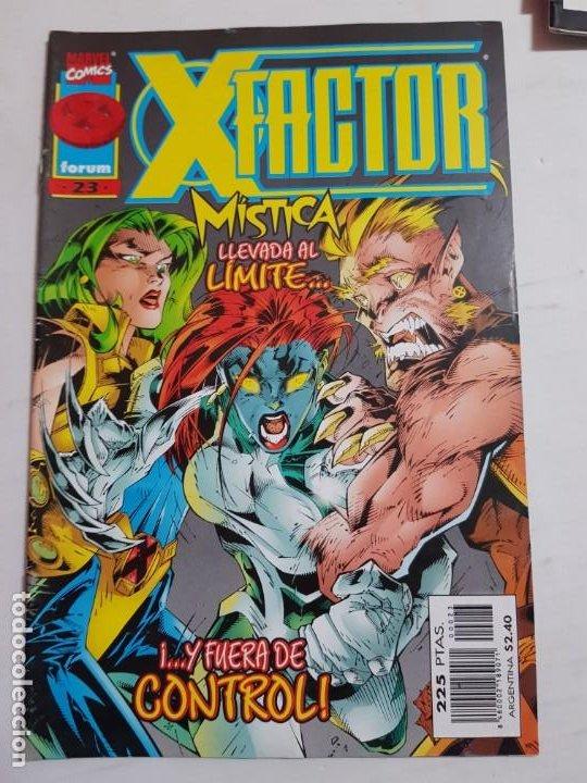 X-.FACTOR Nº 23 FORUM ESTADO BUENO MAS ARTICULOS ACEPTO OFERTAS (Tebeos y Comics - Forum - Factor X)