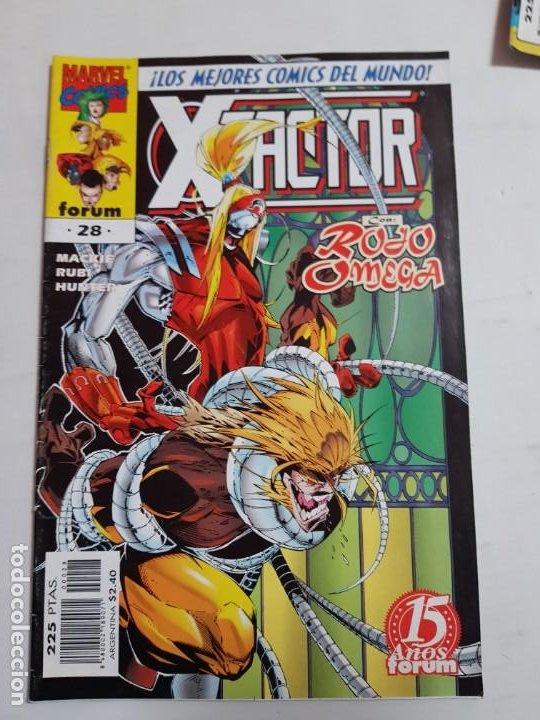 X-.FACTOR Nº 28 FORUM ESTADO BUENO MAS ARTICULOS ACEPTO OFERTAS (Tebeos y Comics - Forum - Factor X)
