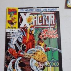 Cómics: X-.FACTOR Nº 28 FORUM ESTADO BUENO MAS ARTICULOS ACEPTO OFERTAS. Lote 194189748
