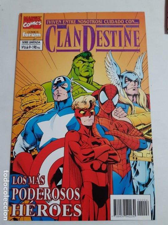 CLANDESTINE Nº 6 DE 9 FORUM ESTADO MUY BUENO MAS ARTICULOS ACEPTO OFERTAS (Tebeos y Comics - Forum - Otros Forum)