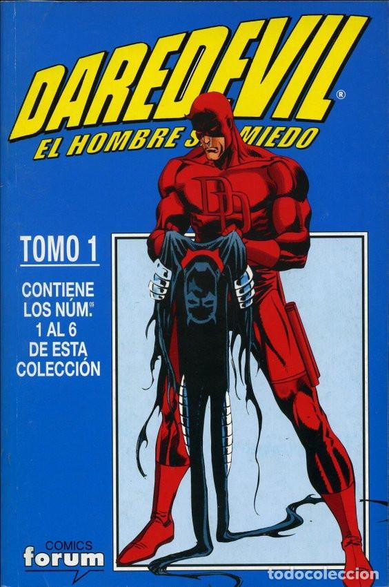 DAREDEVIL VOL. 2 DAREDEVIL EL HOMBRE SIN MIEDO COMPLETA 4 TOMOS RETAPADOS (Tebeos y Comics - Forum - Daredevil)