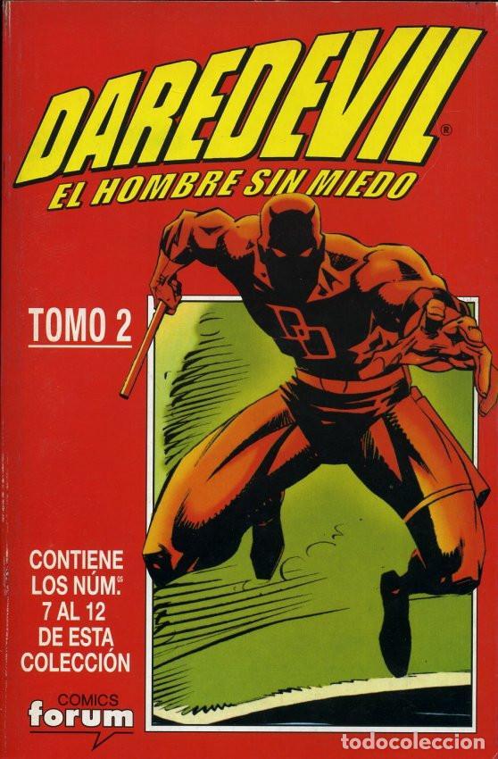 Cómics: DAREDEVIL VOL. 2 DAREDEVIL EL HOMBRE SIN MIEDO Completa 4 Tomos Retapados - Foto 2 - 194212508