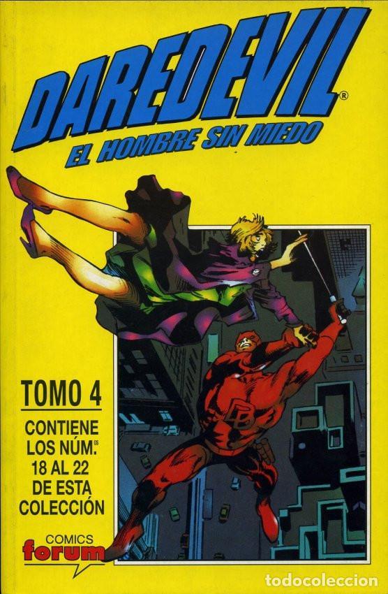 Cómics: DAREDEVIL VOL. 2 DAREDEVIL EL HOMBRE SIN MIEDO Completa 4 Tomos Retapados - Foto 4 - 194212508