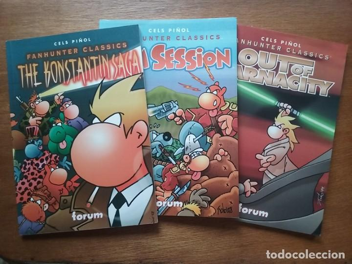 SAGA FANHUNTER CLASSICS, THE KONSTANTIN SAGA, JAM SESSION, OUT OF BARNACITY, CELS PIÑOL, FORUM (Tebeos y Comics - Forum - Otros Forum)