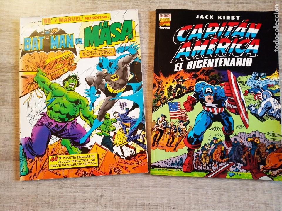 CAPITAN AMERICA - EL BICENTENARIO + BATMAN VS LA MASA - ALBUM GIGANTES - FORUM - MARVEL (Tebeos y Comics - Forum - Capitán América)