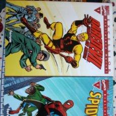 Cómics: BIBLIOTECA MARVEL EXCELSIOR - SPIDERMAN N1 ,DAREDEVIL N1. Lote 194267935