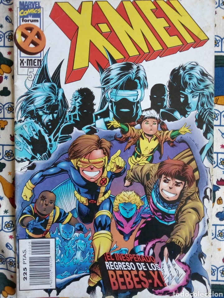 X-MEN - FORUM VOL 2 N 5 (Tebeos y Comics - Forum - X-Men)